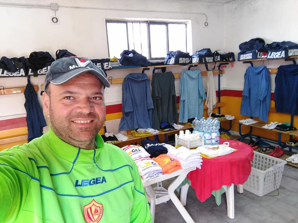 Passione, pazienza ed attenzione: Costabile De Marco, magazziniere della Polisportiva Santa Maria